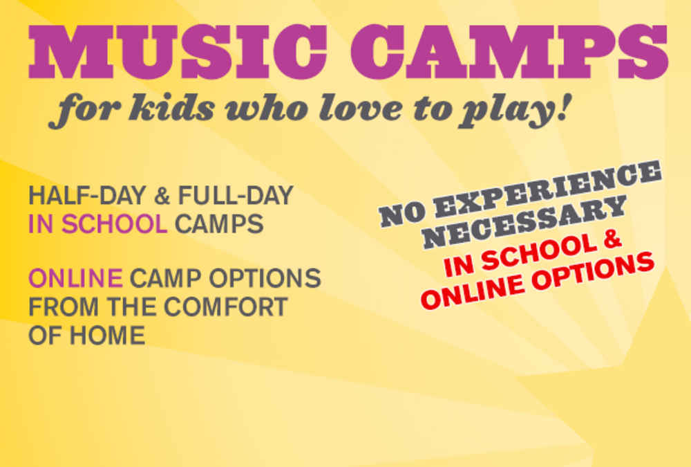 Music Camps - Online & In School